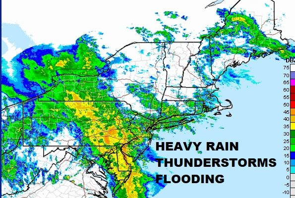 Flooding Rains Thunderstorms Strong Winds Coastal Flooding