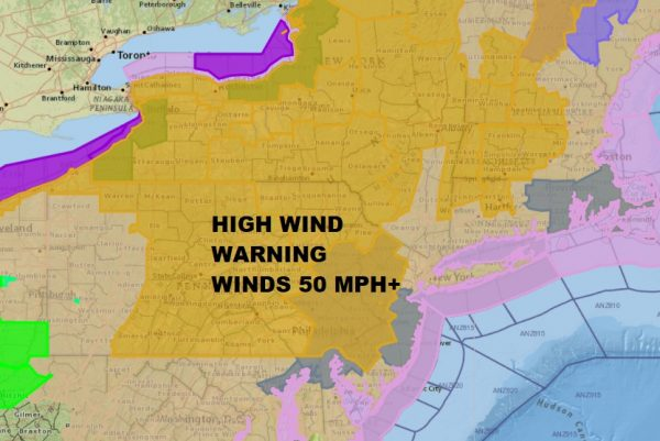 High Winds Severe Weather Possible Snow Chance Friday Saturday