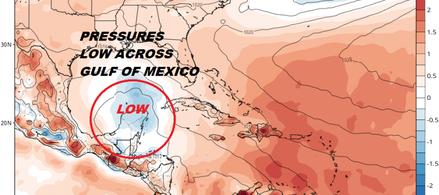Watching Gulf of Mexico Northwest Caribbean Late Week