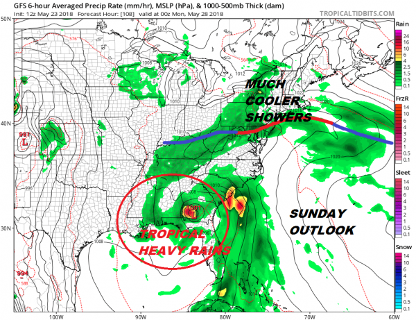 Sunshine Through Saturday Temperatures Rise Memorial Day Holiday Weekend Outlook