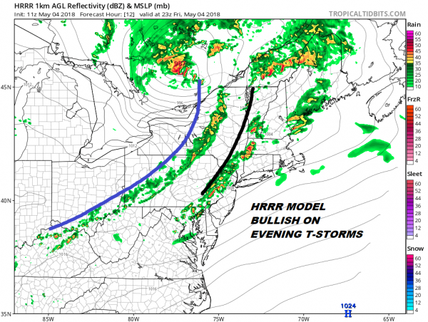 Severe Weather Risk Late Today As Cold Front Approaches