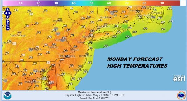 Week Begins Sunny Showers Tuesday Dry Second Half