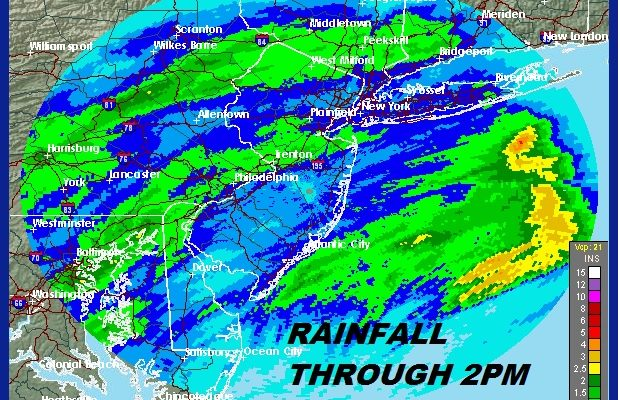 Rain Sinking Southward But Set To Return Late Friday