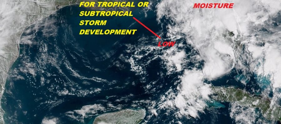 Tropical Subtropical Storm Development Possible Northeast Gulf of Mexico