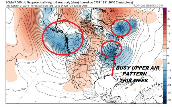 Shots of Canadian Cool Air Next 10 Days