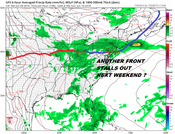 Rain Moving Offshore Weather Conditions Improve Week Ahead Outlook