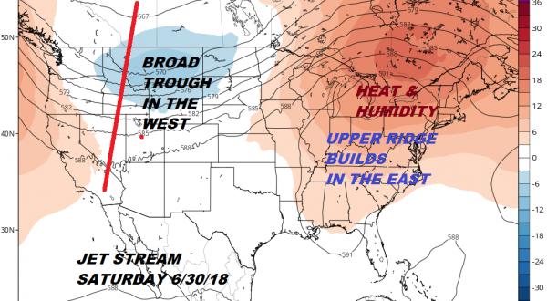 Gloomy Saturday Ocean Wind Severe Weather South Summer Pattern Coming Late Next Week
