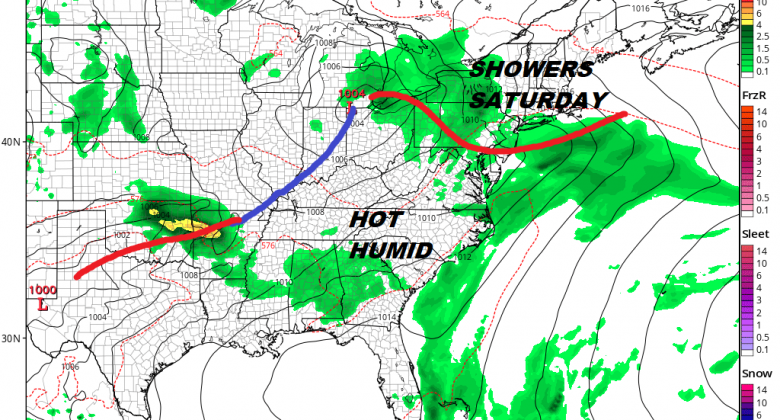 Showers Ocean Wind Saturday Warm Humid Sunday Weather Improves Later Today Showers Likely Saturday