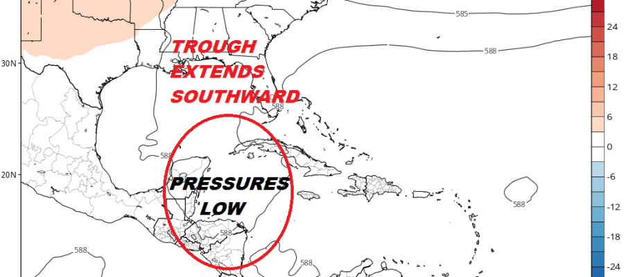 Tropics Could Come Alive Next Week Caribbean Gulf of Mexico