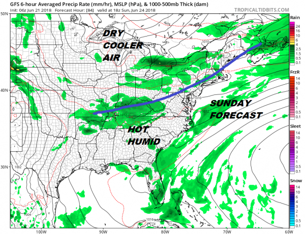 Weather Improves Later Today Showers Likely Saturday