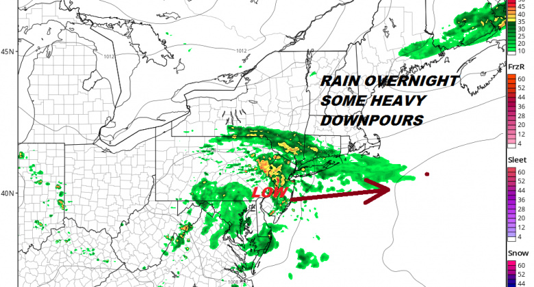 Clouds Arriving Rain Overnight Weekend Shower Issues