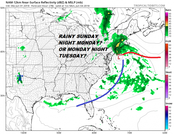 Warm Humid Afternoon Weekend Uncertainty Into Next Week