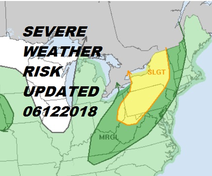 Severe Weather Possible Wednesday As Cold Front Approaches