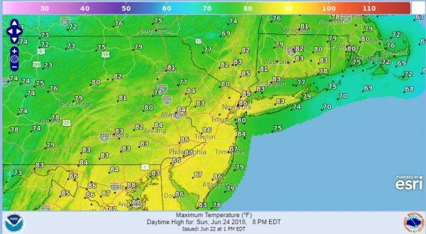 Radars Loading Up As Showers Move Slowly Northward
