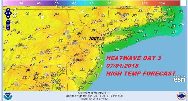 Severe Weather Risk Today Heatwave Begins Friday 100 Sunday?