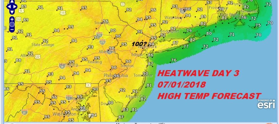 Severe Weather Risk Today Heatwave Begins Friday 100 Sunday?