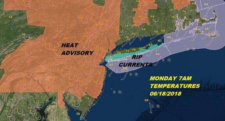 Heat Humidity Monday Lower Humidity Tuesday