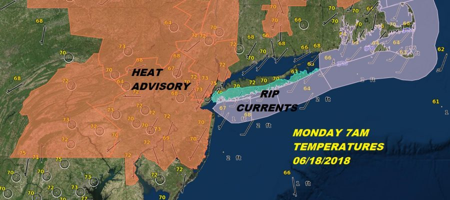 Heat Humidity Monday Lower Humidity Tuesday