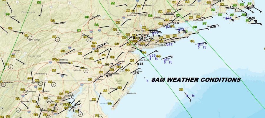 Gloomy Saturday Ocean Wind Severe Weather South