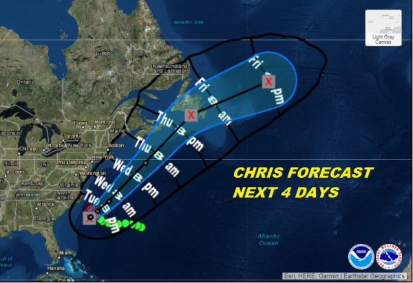 Chris Rip Currents Increasing Next Few Days Long Island New Jersey