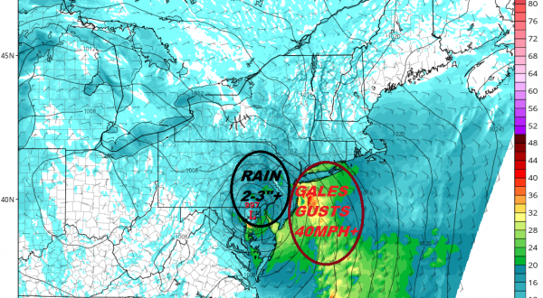 Flood Watch Central South Jersey SE PA, Severe Weather Risk Coastal NJ NYC & Long Island