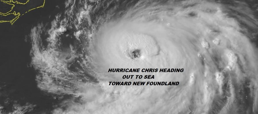 Hurricane Chris Waves Rip Currents Heading Northeast