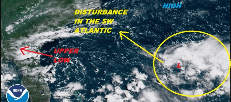 Tropical Disturbances Develop In Atlantic Basin