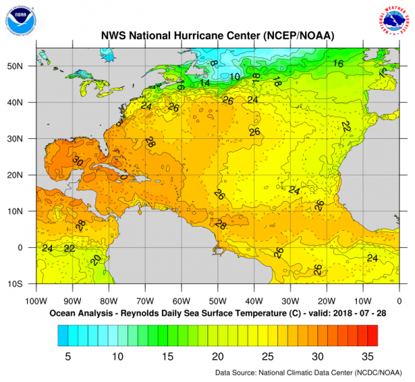 Tropical Activity Looking Ahead August September