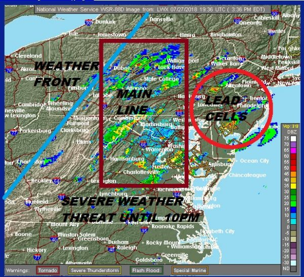 Severe Thunderstorm Watch Continues through 10pm