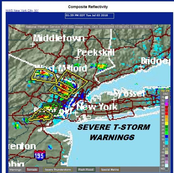 Severe Thunderstorms Popping Brutally Hot Humid