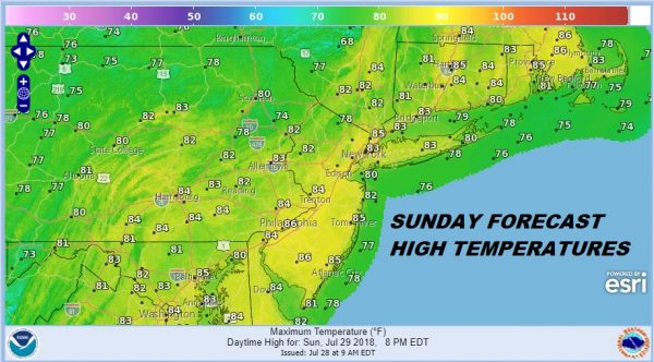 Humidity Set To Drop Tonight & Sunday