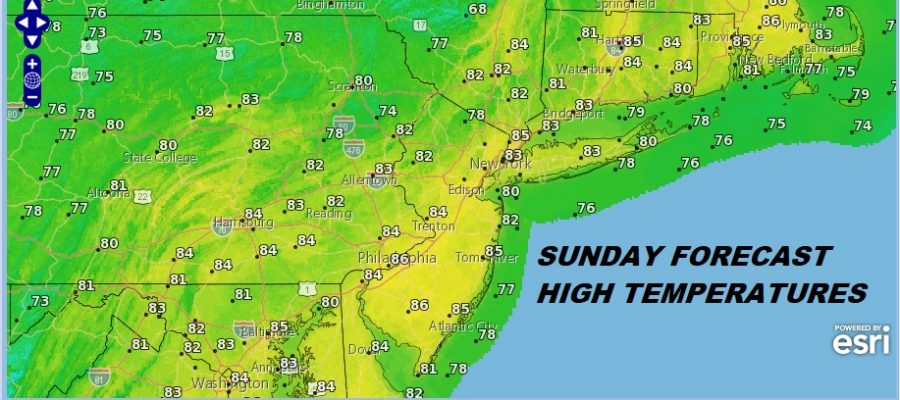 Humidity Set To Drop Tonight & Sunday