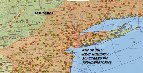 4th Of July Humidity Steam Bath Pop Up Fireworks Late PM