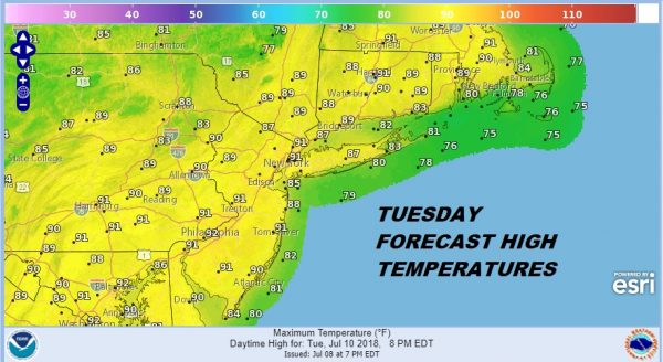 Hot More Humid Severe Weather Risk Evening