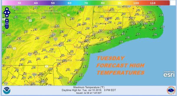 Sunshine Sunday Low Humidity Continues