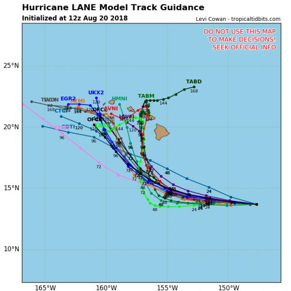 Hurricane Lane Threat Grows Hawaiian Islands