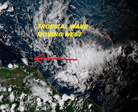 Tropical Storms Ernesto Atlantic Lane Pacific
