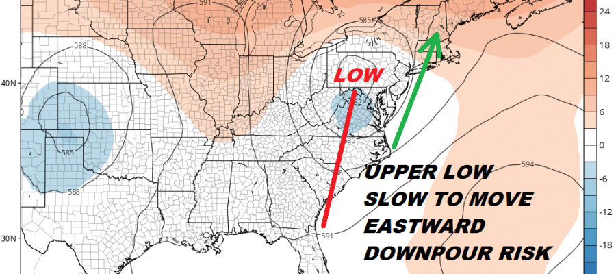 Dew Points Drop Slightly Bad Hair Weather Weekend Next Week