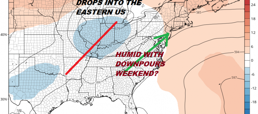 Thunderstorms Humidity Continues Through Wednesday Bad Hair Weather Heat Humidity Thunderstorms Deep Summer
