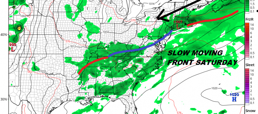 Eastern Troughs Dominate Weather Pattern Next Week Very Warm Afternoon Front Arrives Friday Night Very Warm Afternoon Front Arrives Friday Night BAD HAIR WEATHER THUNDERSTORM FREE 90 DEGREES