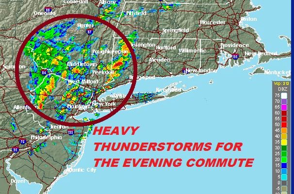 Downpours Thunderstorms Evening Commute More Friday