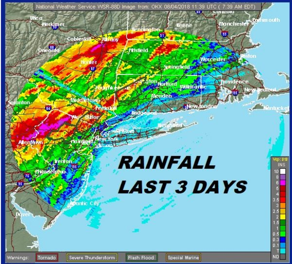 FLASH FLOOD WARNINGS HEAVY RAIN MOVING EAST