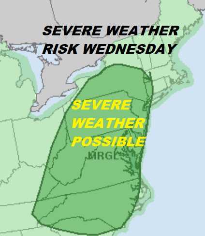 Severe Weather Threat Again Later Today Hot Humid Thunderstorms