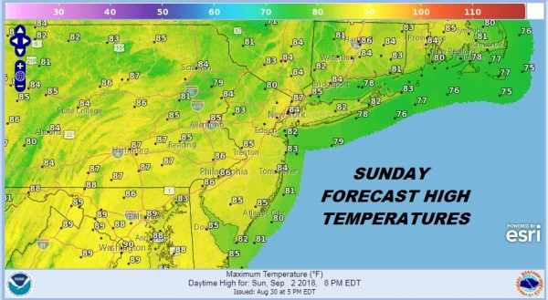 Labor Day Weekend Weather