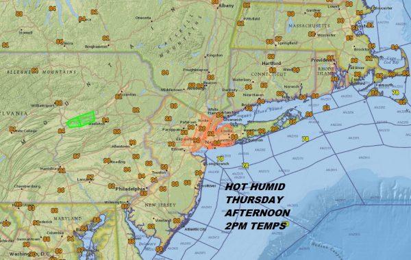 Heat Humidity Thunderstorms