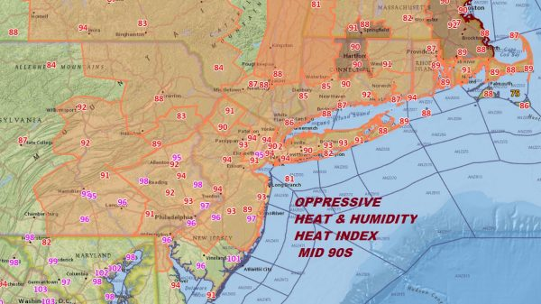 heat humidity heat index