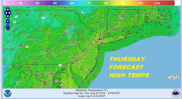 Warm Front Approaches Showers Thunderstorms Tonight Wednesday