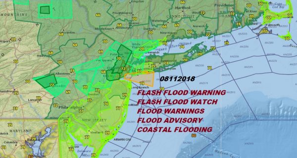 Flash Flood Warnings More Rain Later Today