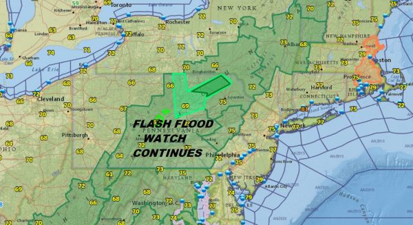 Downpours Thunderstorm Threat Continues Heat Arrives Sunday
