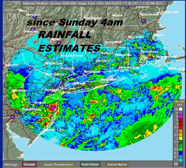 Rain Round 1 Shifts North Thunderstorms Evening Tuesday